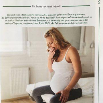 Übelkeit in der Schwangerschaft- Hilfe aus der Naturheilkunde