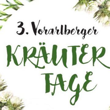 3. Vorarlberger Kräutertage im November 2021