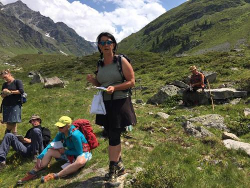 Auf traditioneller Abschlussexkursion in den Ötztaler Alpen