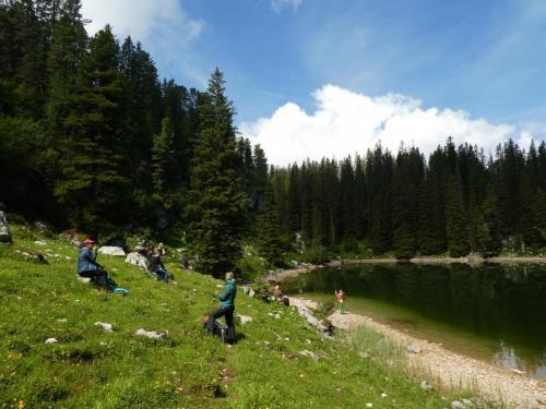 Am stillen Bergsee